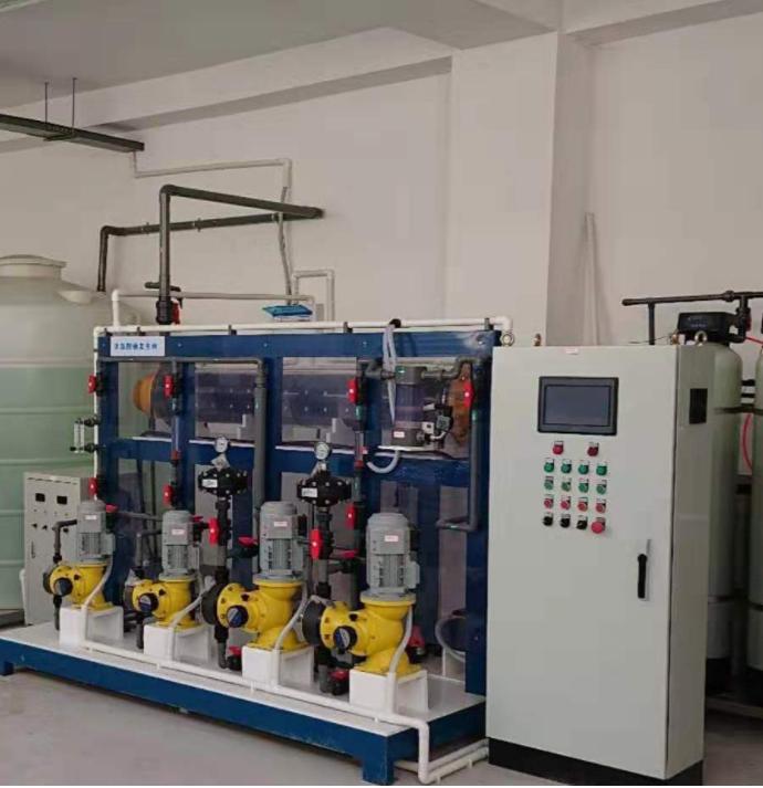 湘怡源生次氯酸钠发生器,遵义官仓水厂运行稳定可靠