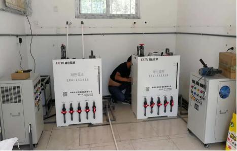 电解二氧化氯发生器,湘怡源生用于茶陵医院