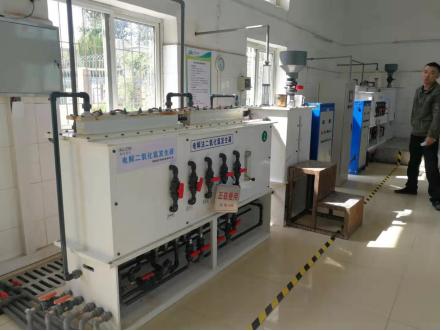 电解二氧化氯发生器,湘怡源生服务昆明南方水务