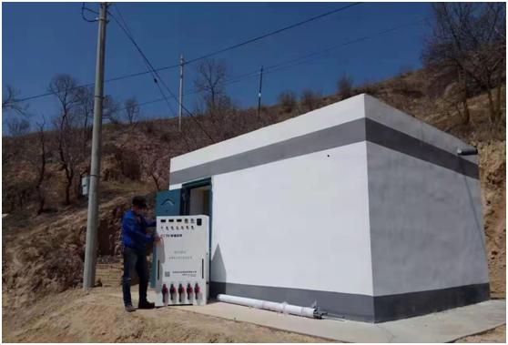 UOUZEN电解二氧化氯发生器,为麻阳地区饮水提供服务