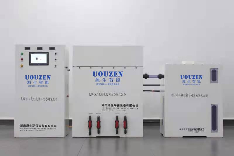 油田回注水电解法二氧化氯发生器